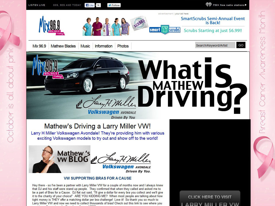 Larry Miller Volkswagen >> Larry Miller Vw Mathew Blades Steven W Schultz